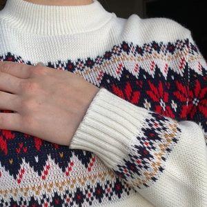 Shepherd Cream Acrylic Sweater